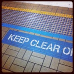 Photo taken at Town Hall Station (Platform 3) by Minh T. on 1/12/2013