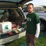 Photo taken at Purdue Tailgating Intermural Fields by Alice S. on 10/11/2014