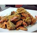 Photo taken at Sampan Seafood by Dennis K. on 9/14/2014