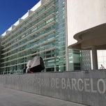 Photo taken at Museu d'Art Contemporani de Barcelona (MACBA) by Junji S. on 3/18/2013