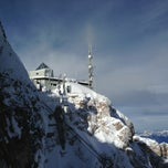 Photo taken at Zugspitze by Shelley H. on 3/12/2013