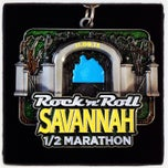 Photo taken at Rock n Roll Savannah Marathon Finish by Heather M. on 11/9/2013