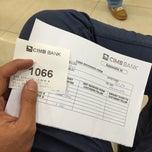 Photo taken at CIMB Bank by Syaffiq I. on 1/7/2015