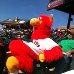 Photo taken at Clipper Magazine Stadium by Suzanne M. on 4/21/2013