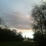 Photo taken at Golf du Coudray by Cédric B. on 12/30/2012