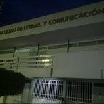 Photo taken at Facultad de Letras y Comunicación by José Miguel M. on 3/15/2013