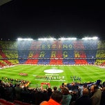 Photo taken at Camp Nou by Bezaleel H. on 5/1/2013