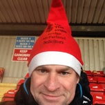 Photo taken at Sincil Bank Stadium-Lincoln City Football Club by Marcus N. on 12/13/2014