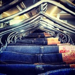 Photo taken at Self Edge Denim by Alina on 10/7/2013