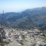 Photo taken at вр. Полежан, 2851м / Polezhan Peak, 9353ft by Петър С. on 8/27/2013