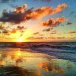 Photo taken at Wild Dunes Beach by John R. on 7/7/2013