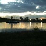Photo taken at Bilkent Gölü by  Ali G. on 5/7/2013