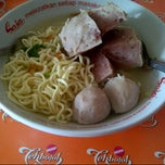 Photo taken at Bakso Djoko by Hilda A. on 2/17/2013