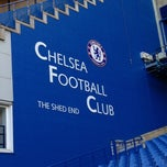 Photo taken at Stamford Bridge by Howard H. on 10/10/2012