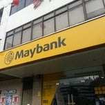 Photo taken at Maybank (Seremban Main Branch) by Kunaalan U. on 2/17/2014