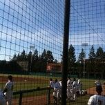 Photo taken at Dedeaux Field by Adrian M. on 5/4/2013