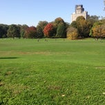 Photo taken at Prospect Park (Long Meadow) by David G. on 10/20/2012