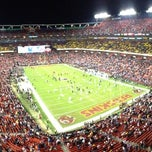 Photo taken at FedEx Field by Will M. on 12/31/2012