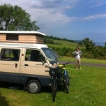 Photo taken at Slapton Sands Camping and Caravanning Club Site by Becky A. on 6/14/2014