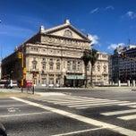 Photo taken at Teatro Colón by Hayo T. on 1/1/2013
