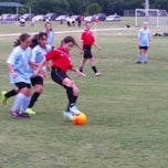 Photo taken at Corinth Soccer Fields by Erica M. on 5/6/2015
