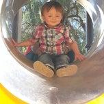 Photo taken at Parque del Cohete by Rafael G. on 10/19/2013