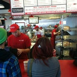 Photo taken at Five Guys by Dave S. on 12/22/2012