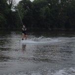 Photo taken at Ohio River Under Sewickley Bridge by Bárbara on 7/21/2013