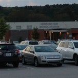 Photo taken at Heritage High School by Kathy L. on 10/3/2013