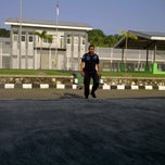 Photo taken at LAPAS Super Maximum Security Pasir Putih Nusakambangan by Gagat A. on 6/8/2014