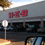 Photo taken at H-E-B by Kathryn K. on 12/11/2012