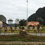 Photo taken at Gua Musang by ~Farhan~ R. on 2/7/2015