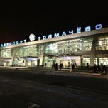 Photo taken at Международный аэропорт «Толмачёво» / Tolmachevo International Airport (OVB) by Sergey🚀 K. on 3/13/2013