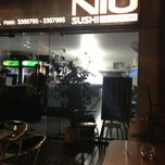 Photo taken at Niu Sushi by Robert A. on 4/10/2013