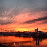 Photo taken at John A. Roebling Suspension Bridge by Steven P. on 1/8/2013