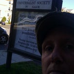 Photo taken at First Universalist Society of Salem by Paul P. on 9/29/2013