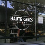Photo taken at Haute Cakes Cafe by Phillip W. on 1/20/2013