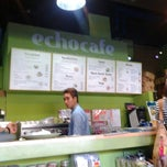 Photo taken at ECHOcafé by JMC L. on 5/19/2013