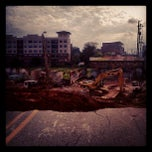 Photo taken at Atlanta BeltLine Corridor under Edgewood Ave. by Mollie T. on 7/28/2013