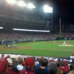 Photo taken at Nationals Section128 by Jon G. on 9/21/2012