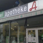 Photo taken at SOWI Apotheke by Markus S. on 6/10/2013