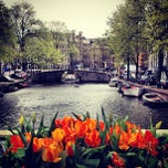 Photo taken at Amsterdam by Alexandre B. on 4/24/2013