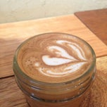 Photo taken at Spitfire Coffee by Lachlan D. on 7/15/2013