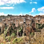 Photo taken at Calcata by Adam L. on 3/31/2013
