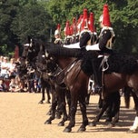 Photo taken at Horse Guards Parade by Andie on 8/28/2013