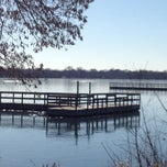 Photo taken at Lake Nokomis Fishing Dock by SemiToxic on 11/24/2013