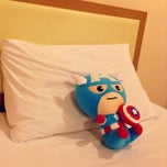 Photo taken at Cozy Villa Hotel by Ryz L. on 7/13/2014