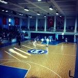 Photo taken at Marmara Üniversitesi Büyük Spor Salonu by Arzu V. on 12/3/2012