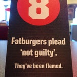 Photo taken at Fatburger by Will B. on 10/4/2014