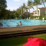 Photo taken at Kolam Renang Citra Garden 1 by Riyanti Anggi S. on 3/23/2014